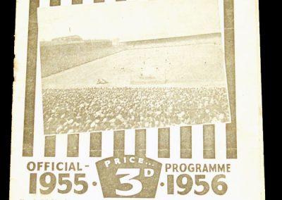 Newcastle United v Arsenal 25.02.1956