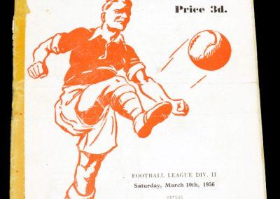Rotherham United v Sheffield Wednesday 10.03.1956