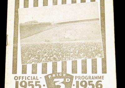 Bishop Auckland v Kingstonian 17.03.1956   FA Amateur Cup Semi Final