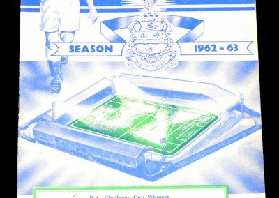 Blackburn Rovers v Middlesbrough 05.03.1963
