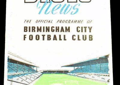 Birmingham City v Blackpool 24.03.1956