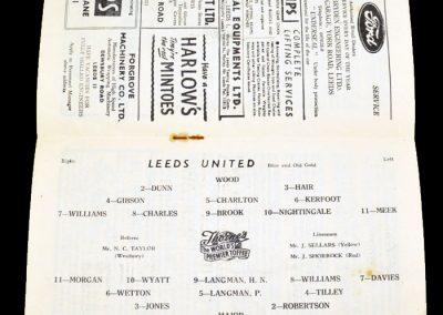 Leeds United v Plymouth Argyle 24.03.1956