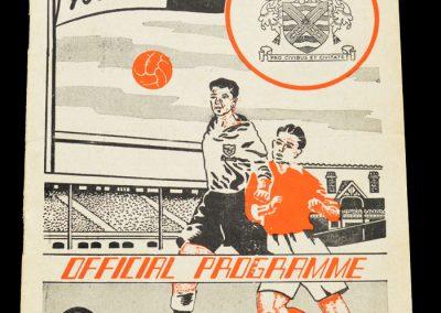 Fulham v Sheffield United 01.11.1958
