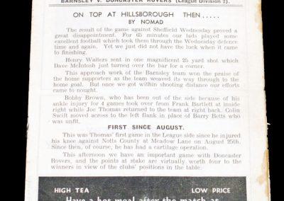 Barnsley FC v Doncaster Rovers 24.03.1956