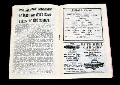 Middlesbrough v Derby County 12.04.1963