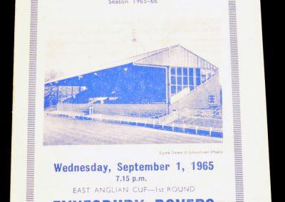 Kings Lynn v Eynesbury 01.09.1965