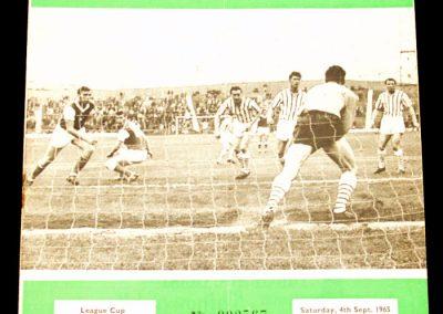 Hibernian v Morton 04.09.1965