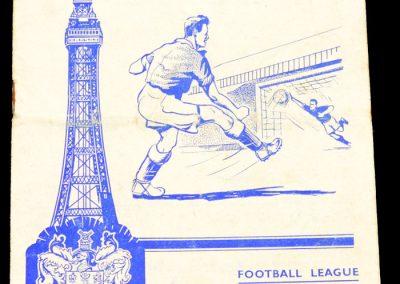 Blackpool v Leeds United 24.08.1957