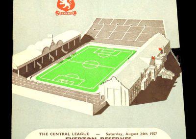 Aston Villa v Leeds United 26.08.1957