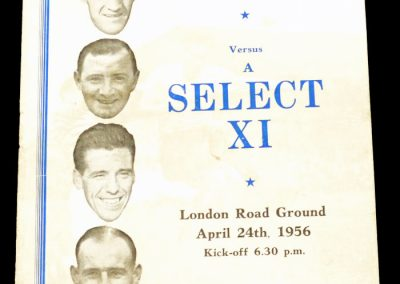 Peterborough United v All Stars XI 24.04.1956