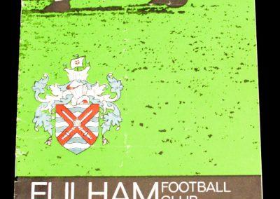 Fulham FC v Nottingham Forest 13.11.1965