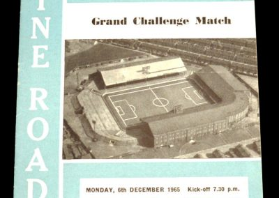 Manchester City v Moscow Dynamo 06.12.1965