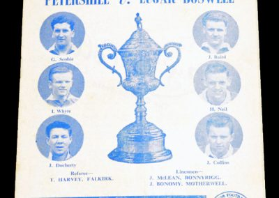 Petershill v Lugar Boswell 19.05.1956   Scottish Junior CF