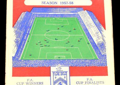 Burnley FC V Leeds United 23.11.1957