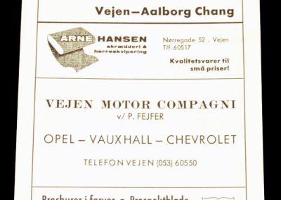 Vejen v Aalborg Chang 11.04.1966 | Danish