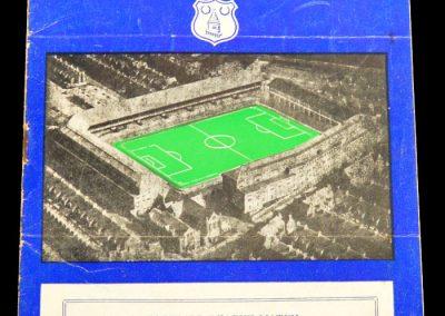 Everton v Leeds United 04.04.1958