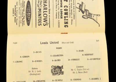 Everton v Leeds United 07.04.1958