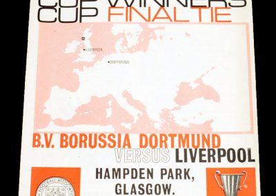 Dortmund v Liverpool 05.05.1966 | Euro Champion Winners Cup final
