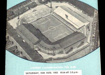 Aston Villa v Manchester City 25.08.1962