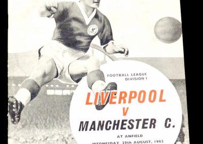 Liverpool v Manchester City 29.08.1962