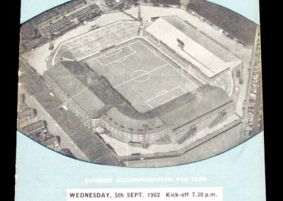 Ipswich Town v Manchester City 05.09.1962