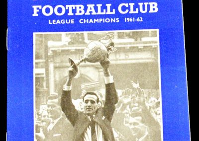 Ipswich Town FC v Manchester City 11.09.1962