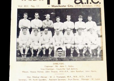 Newport County v Manchester City 24.10.1962 | League Cup 3rd Round
