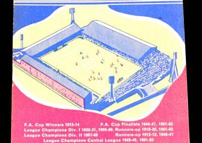 Burnley FC v Manchester City 27.10.1962