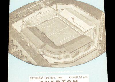 Everton v Manchester City 03.11.1962