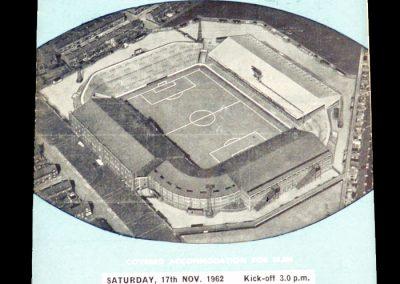 Leicester City v Manchester City 17.11.1962