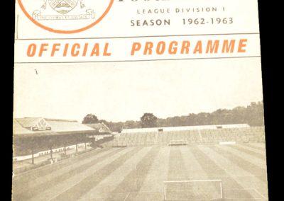 Fulham FC v Manchester City 24.11.1962