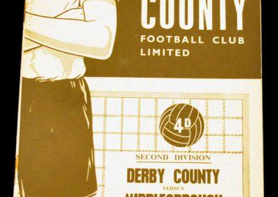 Derby County v Middlesbrough 14.11.1964