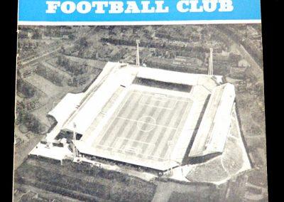 Birmingham City v Manchester City 11.12.1962 | League Cup 5th Round