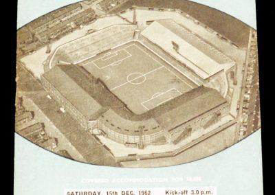 Wolverhampton Wanderers v Manchester City 15.12.1962