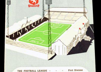 Aston Villa v Manchester City 22.12.1962 | Abandoned