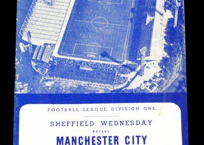 Sheffield Wednesday v Manchester city 09.03.1963
