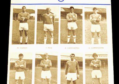 Cardiff City v Middlesbrough 15.01.1965