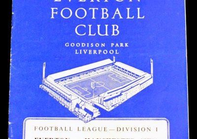 Everton v Manchester City 23.03.1963