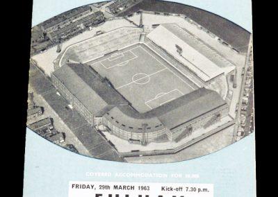 Fulham FC v Manchester City 29.03.1963