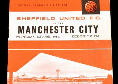 Sheffield United FC v Manchester City 03.04.1963