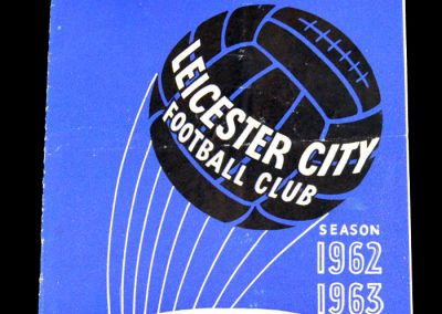 Leicester City v Manchester City 06.04.1963