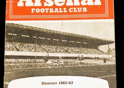 Arsenal v Manchester City 20.04.1963