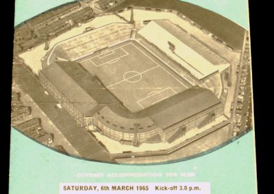 Manchester City v Middlesbrough 06.03.1965