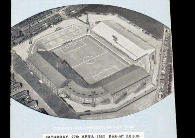 West Bromwich Albion v Manchester City 27.04.1963