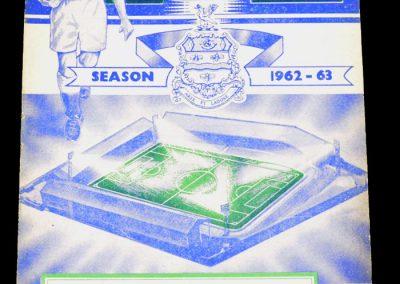 Blackburn Rovers v Manchester City 01.05.1963
