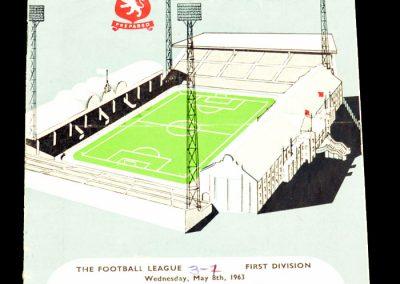 Aston Villa v Manchester City 08.05.1963