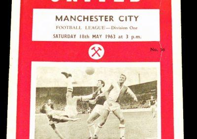 West Ham United v Manchester City 18.05.1963