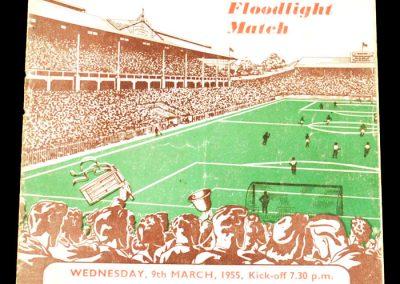 Sheffield XI v International XI 09.03.1955   Derek Dooley Trust Fund