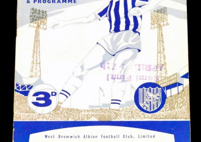West Bromwich Albion v Manchester United 15.12.1962
