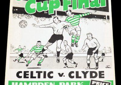 Celtic v Clyde 23.04.1955   Scottish Cup Final